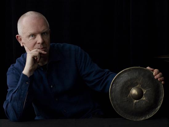 Fritz Hauser mit Gong