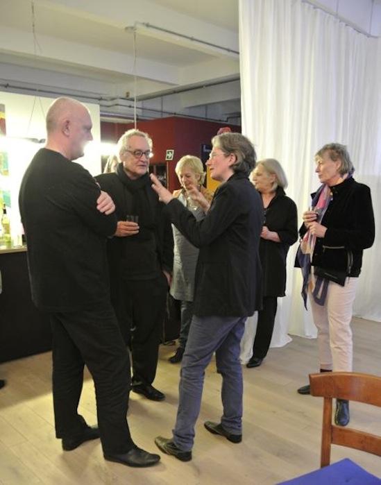 Die Komponistin im Gespräch mit Fritz Hauser (Regisseur) und Egon Ammann
